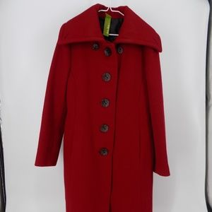 "Sharp ""Soia & Kyo' Coat, Jacket - Red"